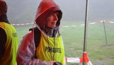 Běh na Velký Javorník - běh mezi kapkami deště