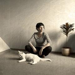 (nattil) Tags: light texture cat self soulscapes texturesquared ldlportraits