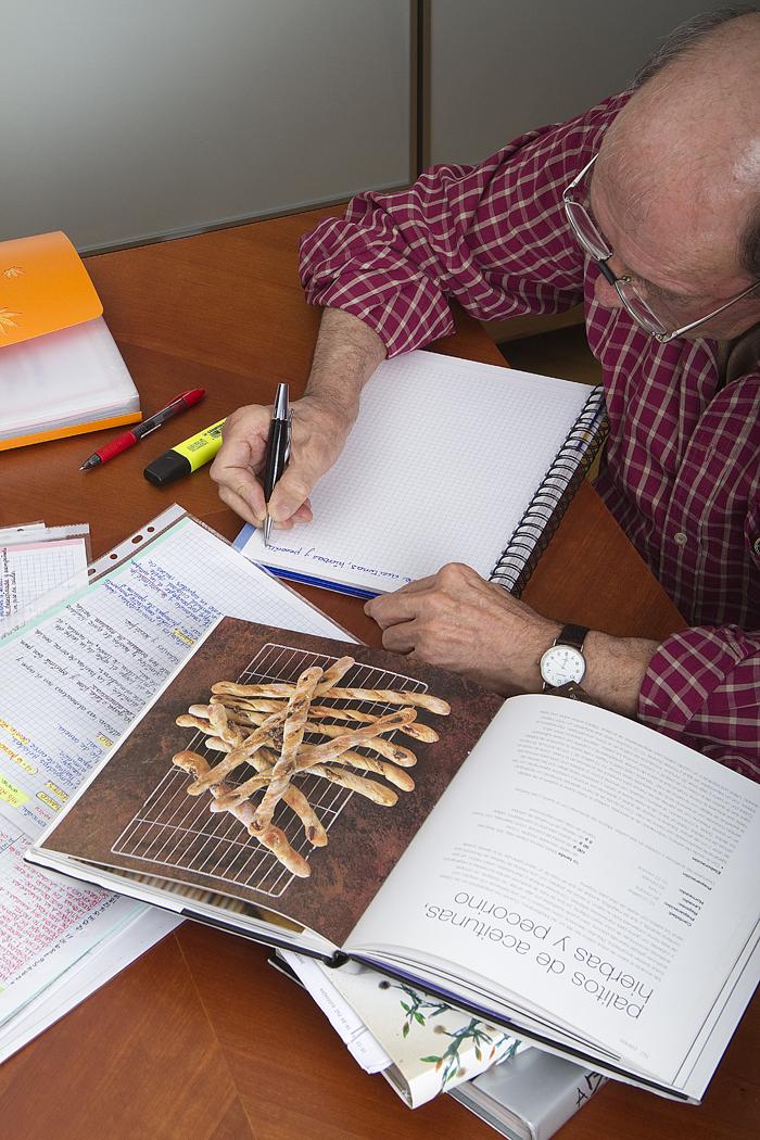 Pablo escribe recetas