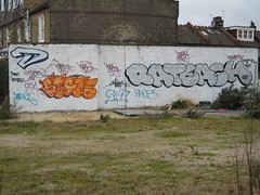 Wasteland Graffiti 2/2 (Z303) Tags: london graffiti hammersmith fulhampalaceroad
