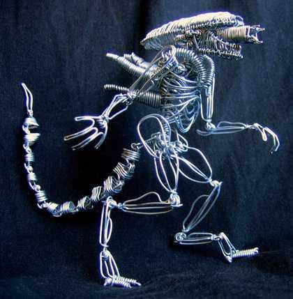 wire alien