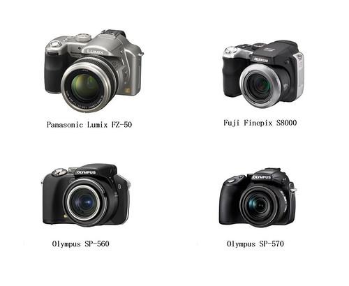 Non SLR cameras