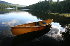Adirondack Lake (Laurie in Baltimore) Tags: adirondacks canoe hornbeckboats
