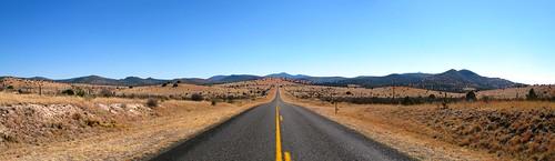 State Road TX118 near Kent, Texas, USA
