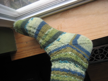 afterthought heel sock