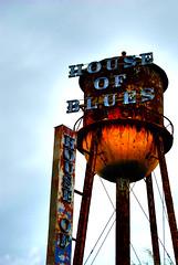HOB HDR (netpunk85) Tags: blue house tower water fire orlando nikon rust downtown flames blues disney hdr lightroom d80 artizen of netpunk85