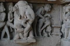Careful. Elephants Never Forget. (becklectic) Tags: india temple 2008 khajuraho eroticism madhyapradesh hindustan views100 dsc1541 khaj worldtrekker