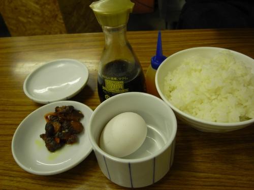 マルサカラーメン-タマゴかけご飯