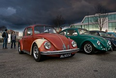 Jordy's Beetle (mcdronkz) Tags: auto window car vw volkswagen fast meeting swedish cox van split ida meet callook oval kfer kever kaefer bubbla dvk