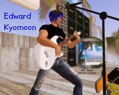 Edward Kyomoom @ Crystal Sands 1 (rula.rayna) Tags: portrait photograph secondlife metaverse