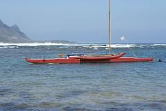 Boat in Hanalei Bay (sstamps) Tags: kauai hanaleibay