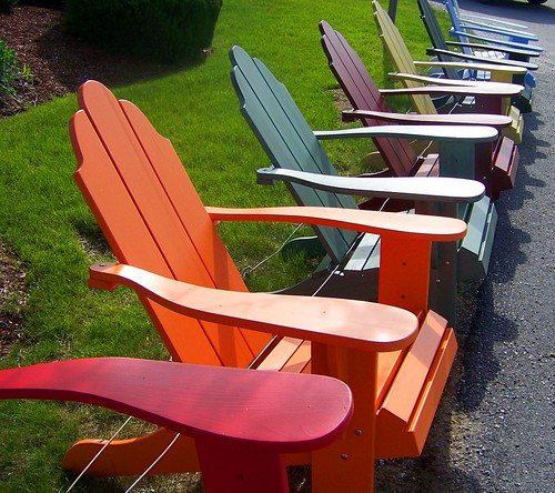 chairs of color