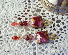 Vin Rouge Earrings