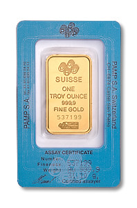 gold pamp 1 oz bar pkg