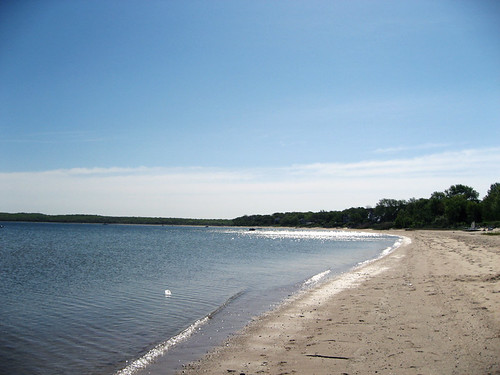 the beach at Sag Harbor
