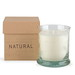 Kenneth Turner Natural Candle in Recycled Glass