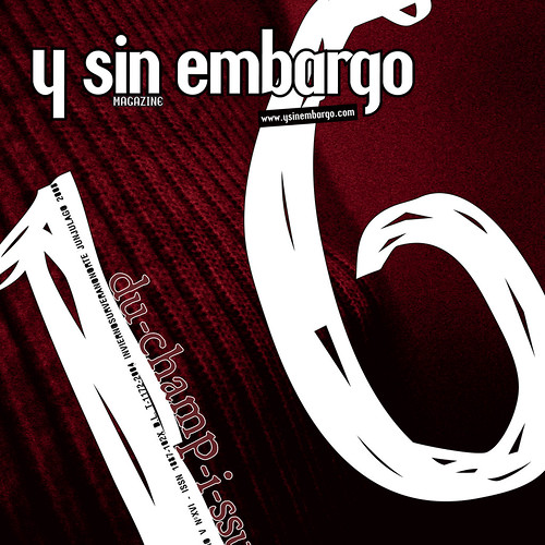 Y SIN EMBARGO magazine #16
