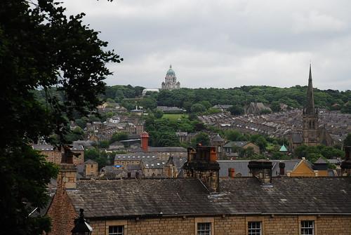 ランカスター城からの眺め
