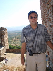 Me and Byzantine ruins (steven_and_haley_bach) Tags: me myself dad steven byzantine mystras sixthday mistras greecevacation byzantineruins