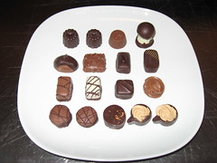 Petrossian: Assorted chocolates (another view)