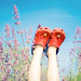 """Mamma..wouldn't it be cool if we had flowers for legs?"" by Lisa Røstøen     Fotografix Studios"