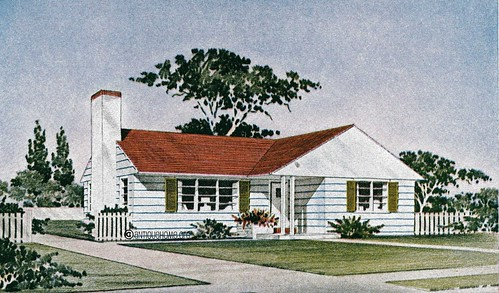 The Revere  1950s Ranch Style Home  House Plans   a photo on