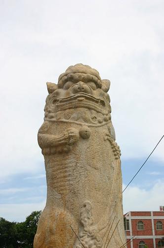 西園鹽場風獅爺