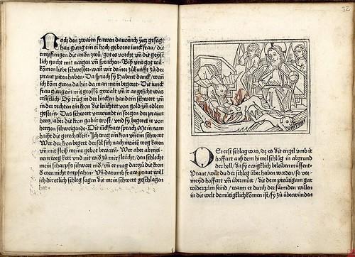 Buch der Kunst dadurch der weltliche Mensch mag geistlich werden - Johann Bämler 1477 b