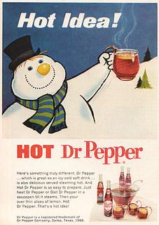 Dr Pepper Ad 1969