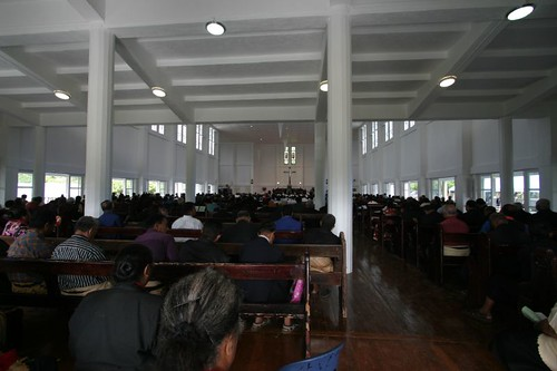 Church in Nuku'alofa, Tonga.