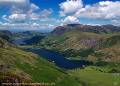 Buttermere & Crummock Water (Roger B.) Tags: uk england mountain lake geotagged lakedistrict haystacks cumbria lakeland buttermere lakedistrictnationalpark imagekind onwebsite geo:lat=54511366 geo:lon=3252382