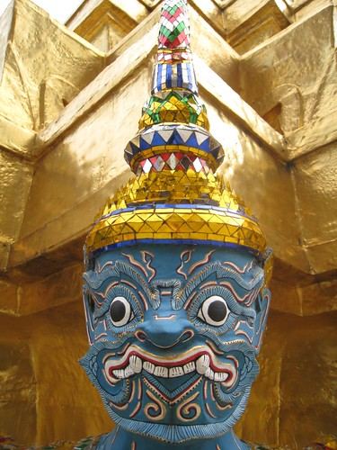 Funny face - Thai Royal Palace, Bangkok