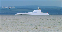 My New Toy the Super Yacht 'A' (Dysartian) Tags: uk white scotland shark fife britain firthofforth philippestarck kirkcaldy dysart superyacht dmal a dysartian llovemypics andreymelnichenko superyachta andreimelnichoff blohmandvossler sigmaproject  1009340 projectsigma aofhamilton boattripsfromanstruther