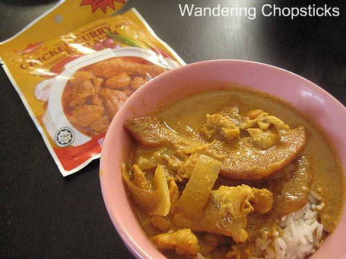 Malaysian Mango Chicken Curry 1