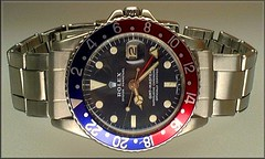 "Rolex GMT Master 16750 with ""Pepsi"" bezel (char1iej) Tags: watches ss master crown 500views wristwatch oyster chronometer rolex gmt superlative privatecollection 1675 oysterperpetual twinlock 16750 riveted acryliccrystal rolexwatch charliej pepsibezel crownguards oysterbracelet pepsidial fliplock"