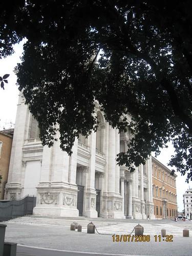 Basilica di San Giovanni in Laterano questa mattina, buona notte dans immagini buon...notte, giorno