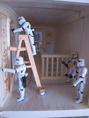 How Many Stormtroopers Does it Take to Wallpaper a Hallway?