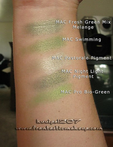 Fresh Green Mix Melange Comparison