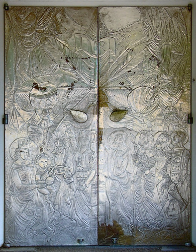 Mary's Chapel, Shrine of Our Lady of the Snows, in Belleville, Illinois, USA - New Testament door