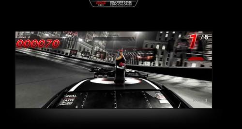 Coke Zero Rooftop Racer