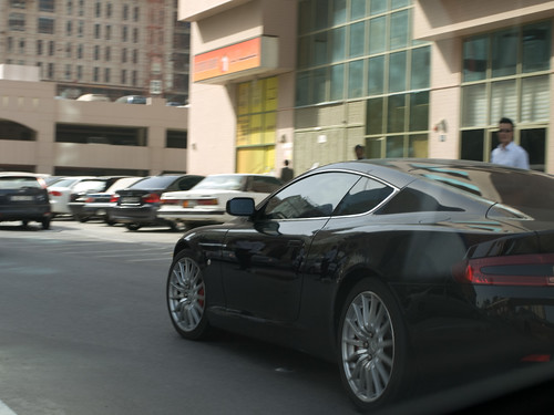 Aston martin DB9 in Dubai
