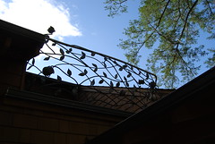 railing 2 (stonegates) Tags: california stone river rocks iron wine steel country wroughtiron railing sculptural bannister riverrocks wrought