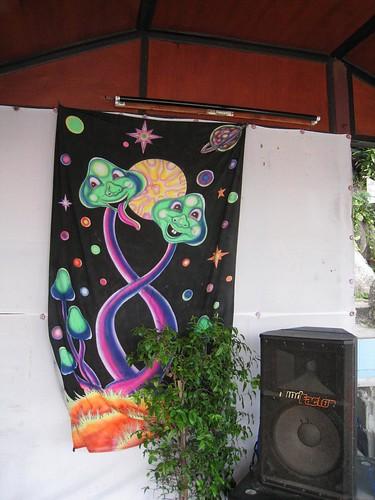 Artwork at The Mountain Bar