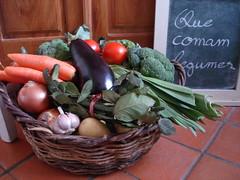 que comam legumes