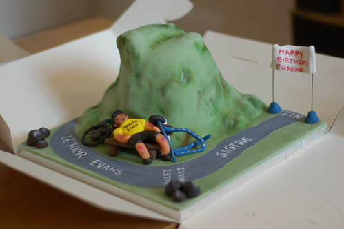 Tour de France birthday cake