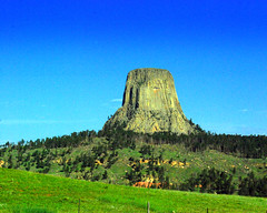 Devils Tower (WorldofArun) Tags: camp tower history monument nature landscape nikon scenery devils july roadtrip explore planet wyoming devilstower 2008 mothernature 18200mm nikond40x yenumula worldofarun arunyenumula