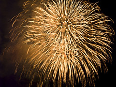 HSBC 2008 FireWorks (***roham***) Tags: canada beach festival night vancouver lights fireworks britishcolumbia smoke celebration kits kitsilano englishbay hsbc celebrationoflight kitsilanobeach