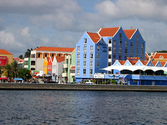Colorful Curacao-Willemstad's Harbor. (Stellas mom) Tags: sky water architecture curacao sensational caribbean willemstad netherlandsantilles
