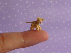 Penny the Cat (MUFFA Miniatures) Tags: cute cat mouse miniature funny doll crochet amigurumi dollhouse muffa cdhm threadanimals