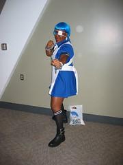 Ryomou Shimei (blueZhift) Tags: anime cosplay otakon animeconvention ikkitousen ryomoushimei otakon2008